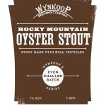 Wynkoop Brewing Company Rocky Mountain Oyster Stout