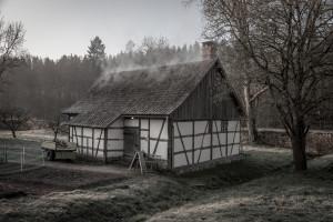 Историческая пивоварня 1734 г. в Тюрингии