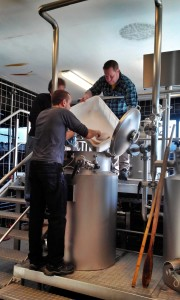 Учебная пивоварня.Затирание