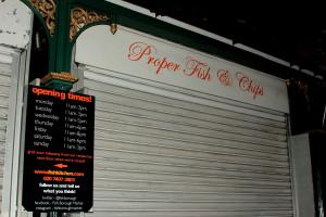 Proper fish&chips Borough