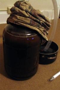 Brown Ale Fermenting