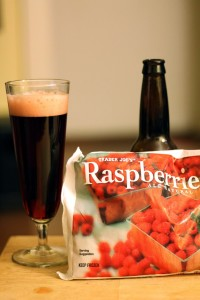 Raspberry Rum Sour Brown