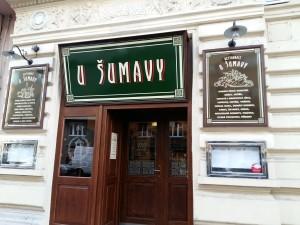 Ресторан у Шумавы