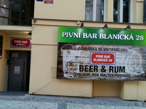 Pivni BAR Blanická